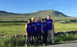 Stepping up to the Three Peaks Challenge