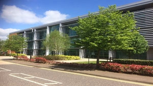 Top floor offices at Cambridge Business Park